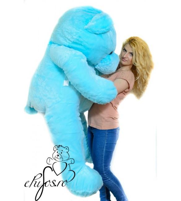 urs de plus albastru
